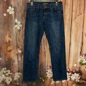 Lucky brand Jeans Sienna Tomboy crop 4/27